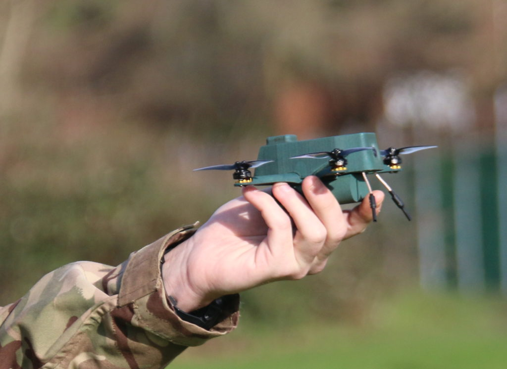 BAE Systems collaborates to develop nano bug drone
